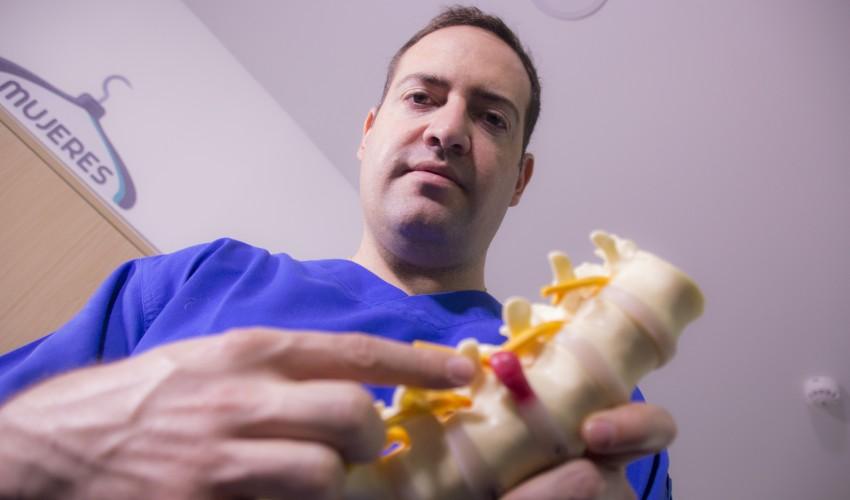 ¿Cómo evitar una hernia discal?
